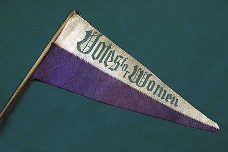 pennant from the Women's Suffrage movement