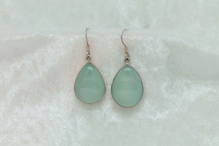 Green Chalcedony Earrings 1765 zoom