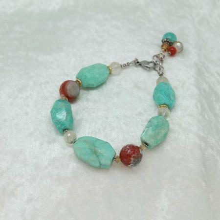 Amazonite Agate Bracelet 2600