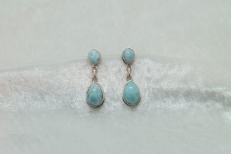 Larimar Earrings 3150