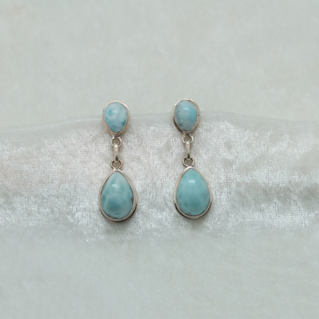 Larimar Earrings 3150