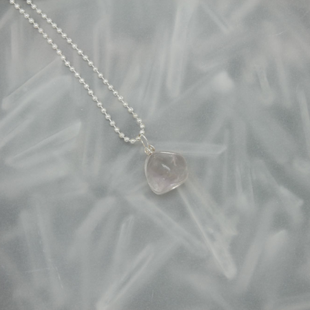 Quartz Stone Necklace 3177