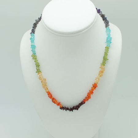 All Chakra Stones Necklace 3220