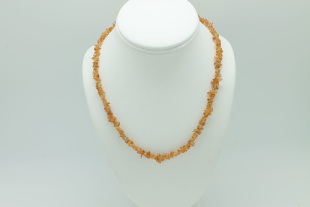 Citrine Chip Necklace 3222