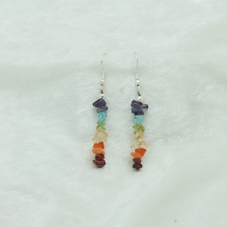 Chakra Chip Earrings