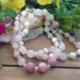 Rose Quartz, Pearl, Rhodocrosite #2353