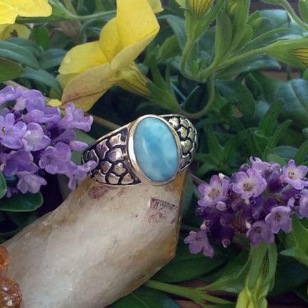 Larimar Ring #2578