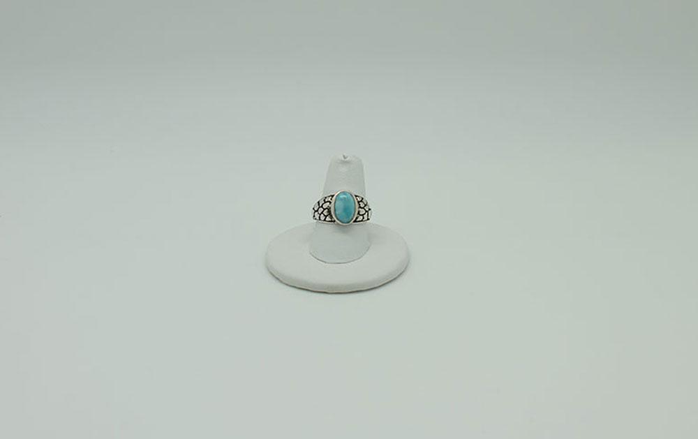 Larimar Ring #2578 - Sun Spirit Gems