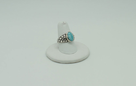 Larimar Ring #2578 - Sun Spirit Gems zoom 1
