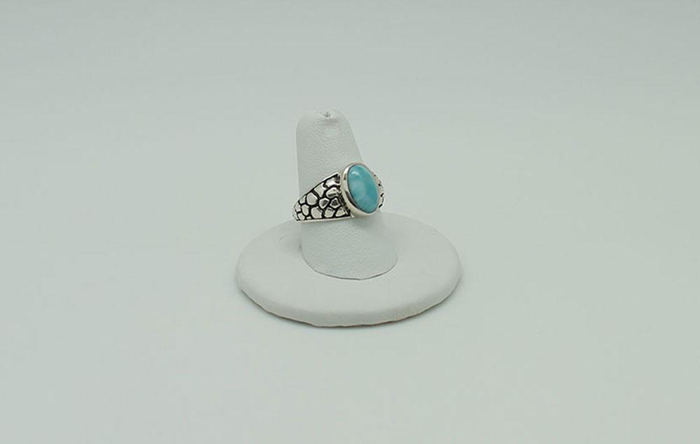 Larimar Ring #2578 - Sun Spirit Gems zoom 1