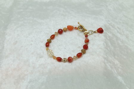 Sacral and Solar Plexus Bracelet #3109