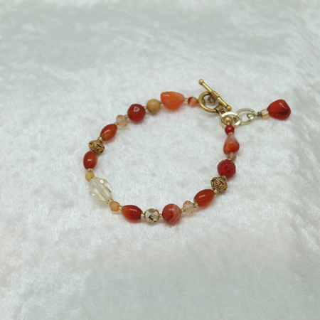 Sacral and Solar Plexus Bracelet #3109