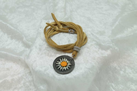 Wild and Free Sunflower Necklace #3159
