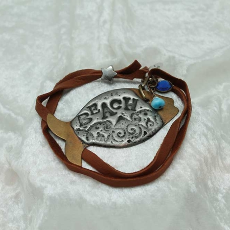 Love of the Beach (Fish) Necklace #3160
