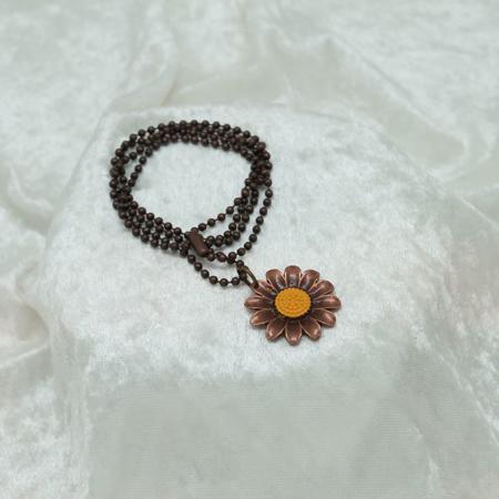 Sunflower Necklace #3162