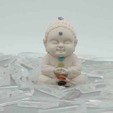 Buddha Figurine - Chakra Stones #3184