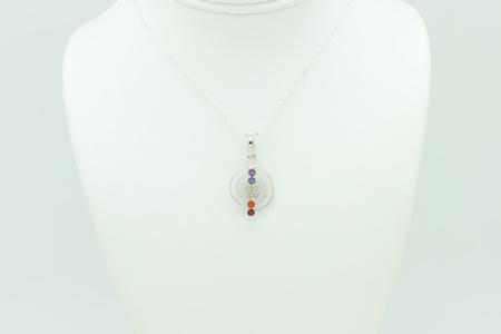 Chakra & Reiki Symbol Necklace #3287 zoom