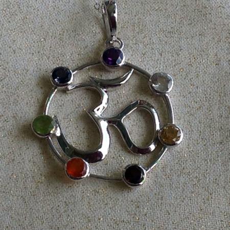 OM-Chakra Necklace