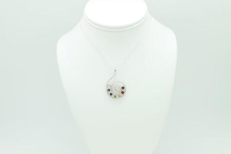 Chakra Swirl Necklace #3290