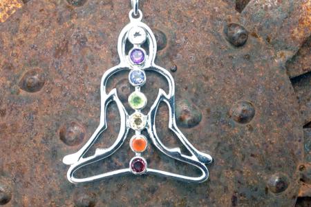 Chakra Goddess Necklace