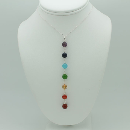 All Seven Chakras Necklace #3368