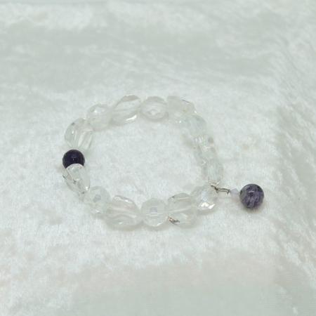 Crown Chakra bracelet #3112