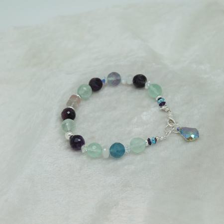 Fluorite Bracelet #3118