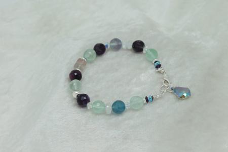 Fluorite Bracelet #3118 zoom 2