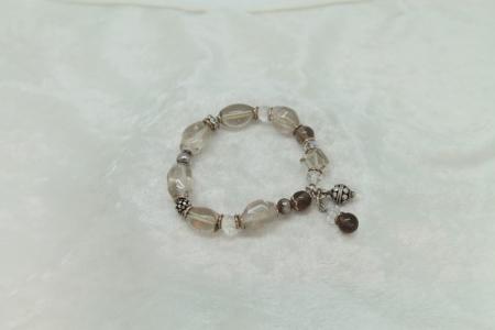 Smokey Quartz Bracelet #3123