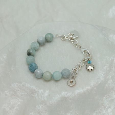 Aquamarine Bracelet #3127