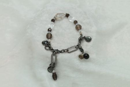 Smokey Quartz Bracelet #3138 zoom 1
