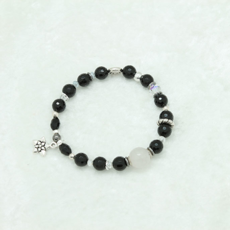 Black Tourmaline Protection Bracelet #3317