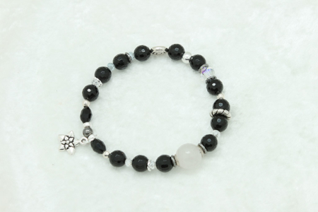Black Tourmaline Protection Bracelet #3317 zoom