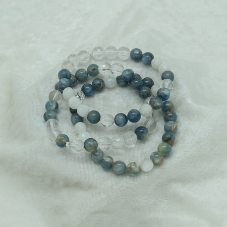 Clear Intentions Bracelet #3337 Stackable