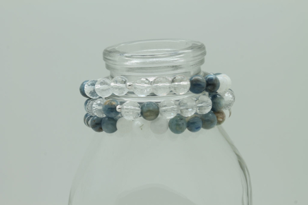 Clear Intentions Bracelet #3337 Stackable zoom 2
