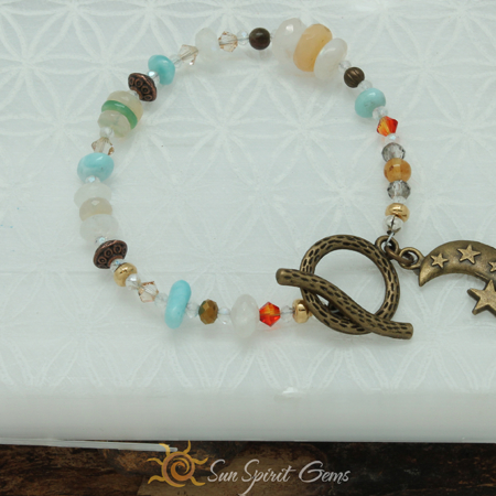 Lady Luna Full Moon Bracelet
