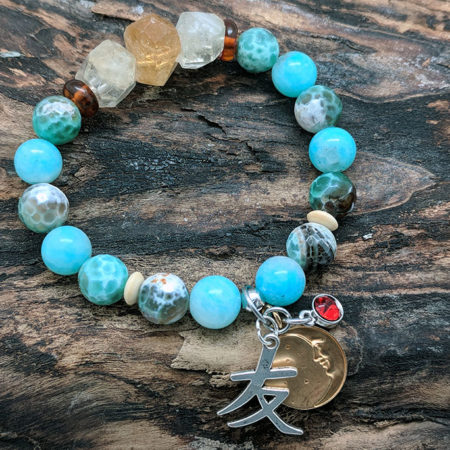 Amazonite Friendship Bracelet #4392