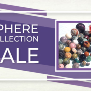 Gemstone Sphere Collection Sale