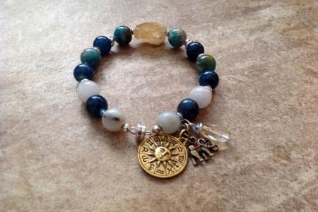 Chrysocolla Bracelet #4458