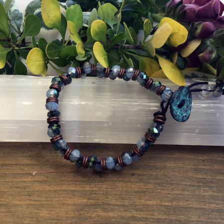 The Oyster - Copper Bracelet