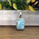Larimar Pendant - Clear Waters