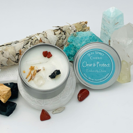 Clear & Protect Scented Candle