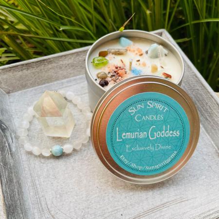 Lemurian Goddess Candle Gift Set