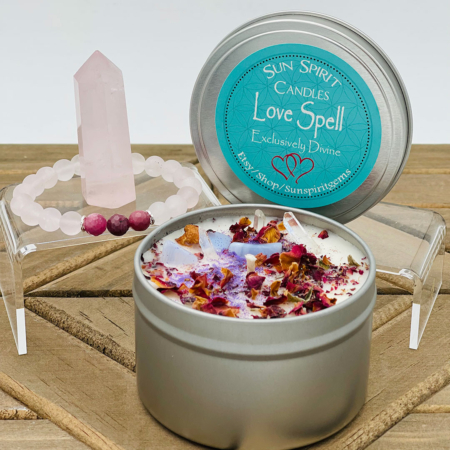 Love Spell Candle Gift Set